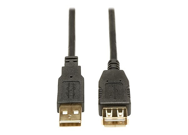 Tripp Lite 3ft USB 2.0 Hi-Speed Extension Cable Shielded A Male / Female 3'