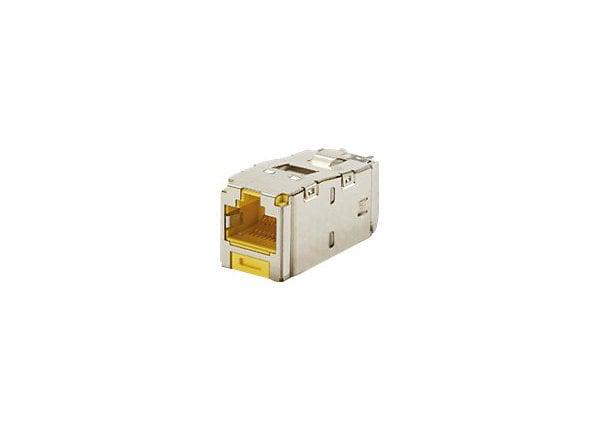Panduit MINI-COM TX6 Plus Shielded Jack Module - modular insert