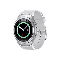 Samsung Gear S2 - silver - smart watch with band silver - 4 GB