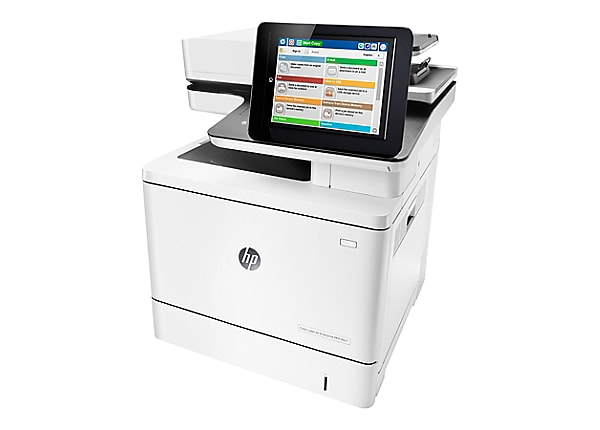 HP LaserJet Enterprise MFP M577dn - multifunction printer - color