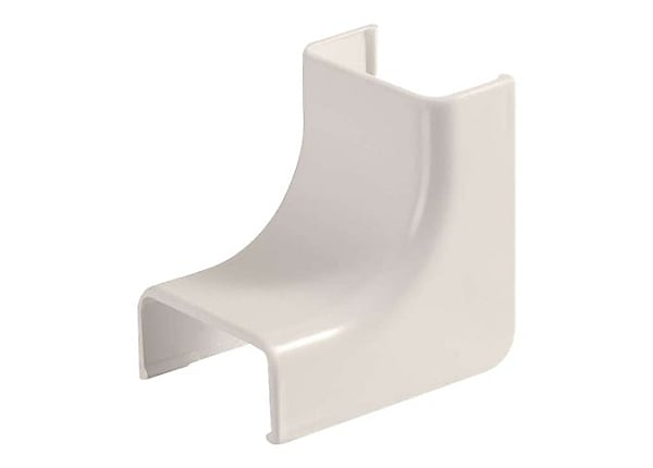 C2G Wiremold Uniduct 2800 Internal Elbow - Fog White - cable raceway inside