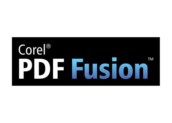 Corel PDF Fusion - maintenance (1 year) - 50 users
