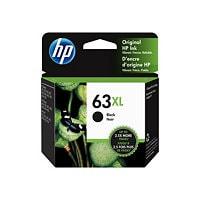 HP 63XL - High Yield - black - original - ink cartridge