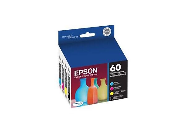 Epson Combo Pack - black, yellow, cyan, magenta - original - ink cartridge