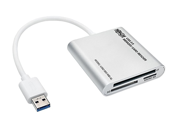 Tripp Lite USB 3.0 SuperSpeed Multi-Drive Memory Card Reader/Writer 5Gbps