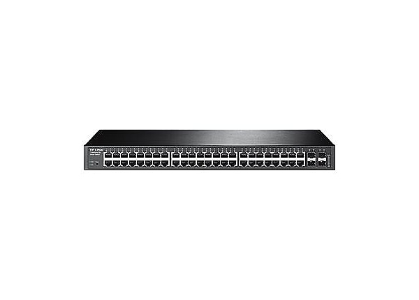 TP-Link JetStream T1600G-52TS - switch - 48 ports - managed - rack-mountabl