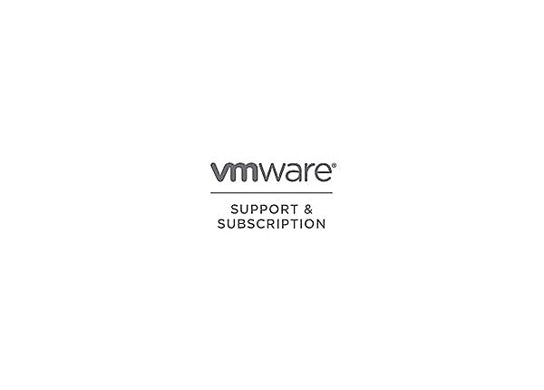 VMware Support and Subscription Basic - technical support - for VMware Fusi