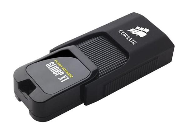 CORSAIR Flash Voyager Slider X1 - USB flash drive - 128 GB