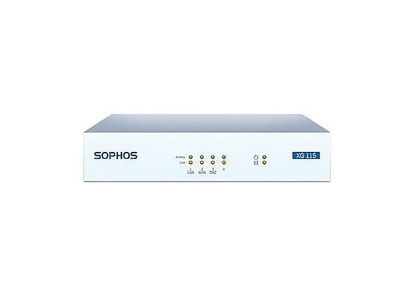 Sophos XG 115 - security appliance - with 1 year TotalProtect