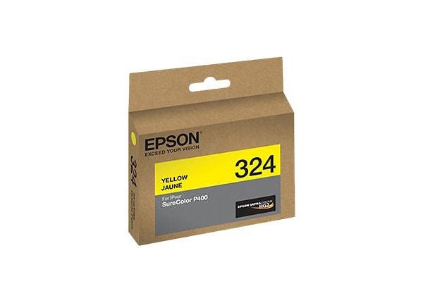 Epson 324 - yellow - original - ink cartridge