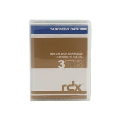 Overland Tandberg RDX QuikStor - RDX x 1 - 3 TB - storage media