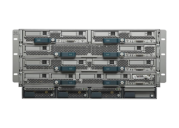Cisco UCS 5108 Blade Server Chassis - rack-mountable - 6U - up to 8 blades