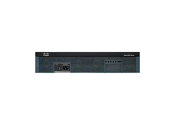Cisco ISR G2 2921 - HSEC Bundle - router - rack-mountable