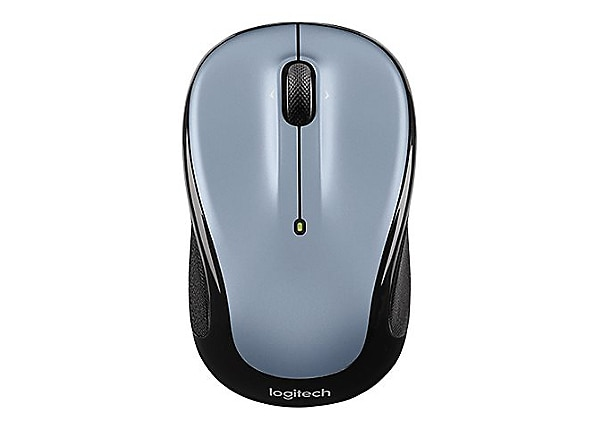Logitech M325 - mouse - 2.4 GHz - light silver