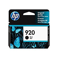 HP 920 - black - original - Officejet - ink cartridge