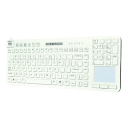 Man & Machine Really Cool Touch - keyboard - white