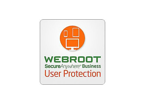 Webroot SecureAnywhere Business - User Protection - subscription license re