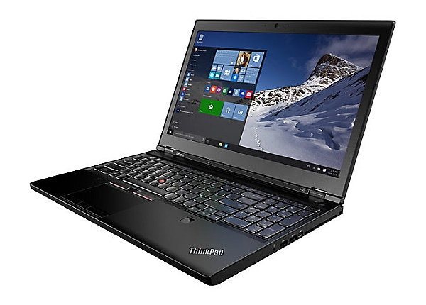 "Lenovo ThinkPad P50 - 15.6"" - Core i7 6820HQ - 16 GB RAM - 256 GB SSD"