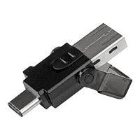 StarTech.com USB 3.0 microSD card reader - for USB C / USB A enabled host