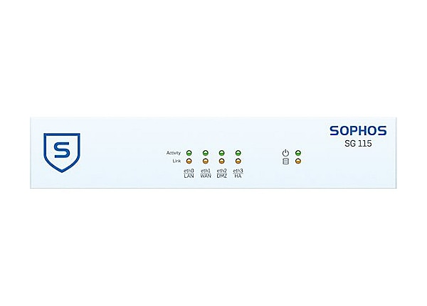 Sophos SG 115w - security appliance