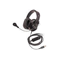 Califone Deluxe 3066USB-BK - headset