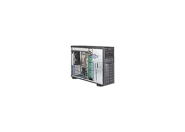 Supermicro SuperServer 7048R-C1RT - tower - no CPU - 0 MB