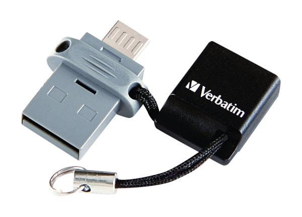 Verbatim Store 'n' Go Dual USB Flash Drive for OTG Devices - USB flash driv