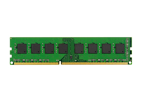 Kingston - DDR3 - 4 GB - DIMM 240-pin - unbuffered