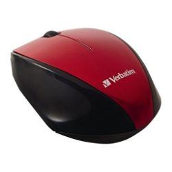Verbatim Wireless Multi-Trac Blue LED - mouse - red