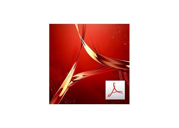 Adobe Acrobat Pro - upgrade plan (9 months) - 50 users
