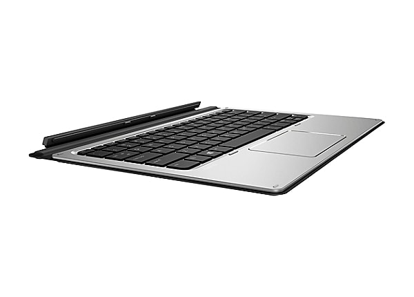 HP Travel - keyboard - with touchpad - US - dark gray
