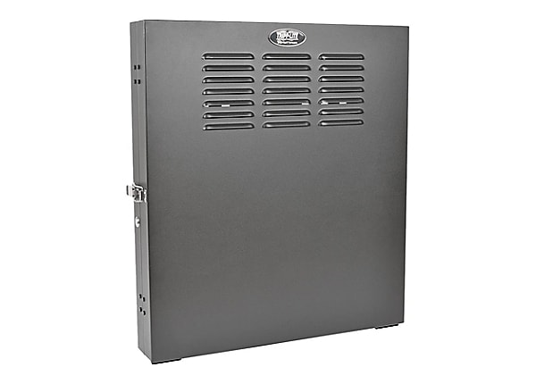 Tripp Lite 2U Wall Mount Rack Enclosure Cabinet Low Profile Vertical Switch
