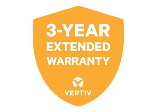 Liebert - extended service agreement - 3 years
