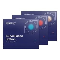 Synology Surveillance Device License Pack - license - 4 cameras