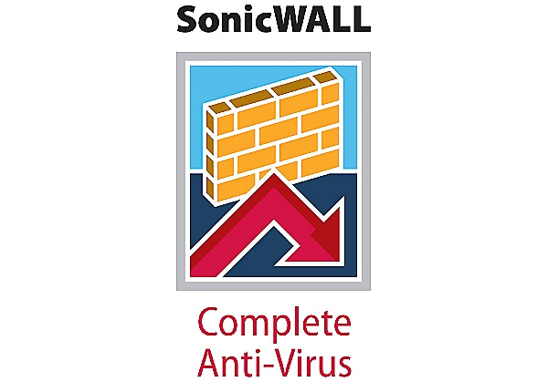 SonicWall Complete Anti-Virus - subscription license (1 year) - 25 users