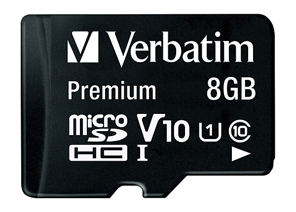 Verbatim - carte mémoire flash - 8 Go - micro SDHC