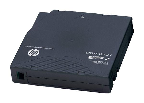 HPE Ultrium RW Custom Labeled Data Cartridge - LTO Ultrium 7 x 20 - 6 TB -