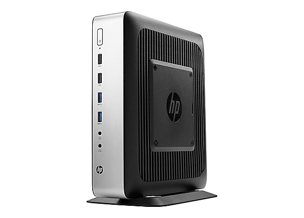 HP t730 - tower - R-series RX427BB 2.7 GHz - 4 GB - 16 GB