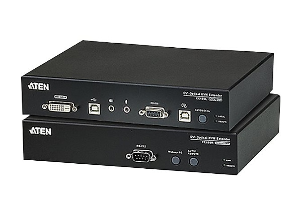 ATEN CE 680 Local and Remote Units - KVM / audio / serial / USB extender