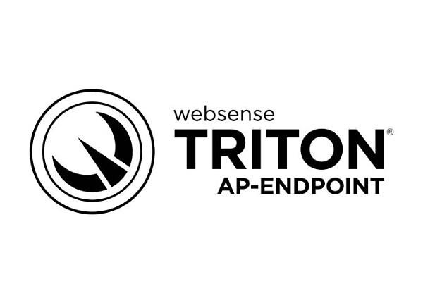 TRITON AP-ENDPOINT DLP - subscription license (33 months) - 1 seat