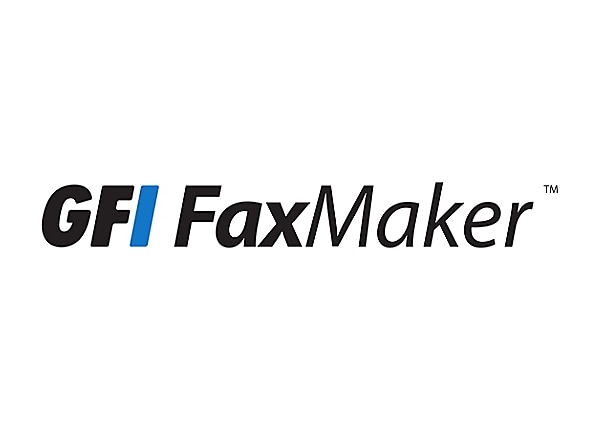 GFI FAXmaker - version upgrade license + 1 year Software Maintenance Agreem