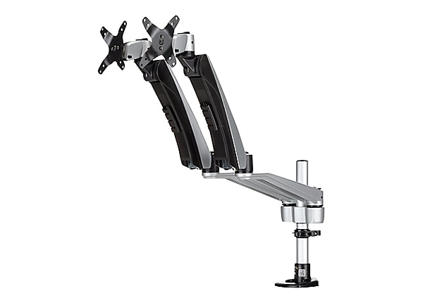 StarTech.com Dual Monitor Arm - One-Touch Height Adjustment - Tool-less