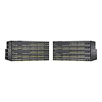 Cisco ONE Catalyst 2960X-48TS-L - switch - 48 ports - managed - rack-mounta
