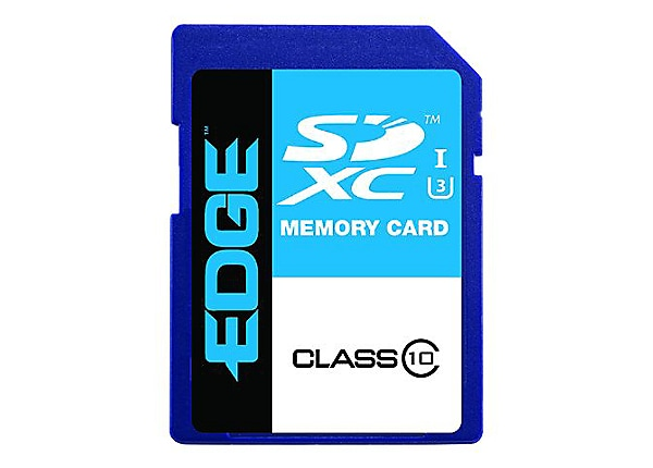 EDGE - flash memory card - 128 GB - SDXC UHS-I