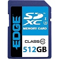 EDGE - flash memory card - 512 GB - SDXC UHS-I
