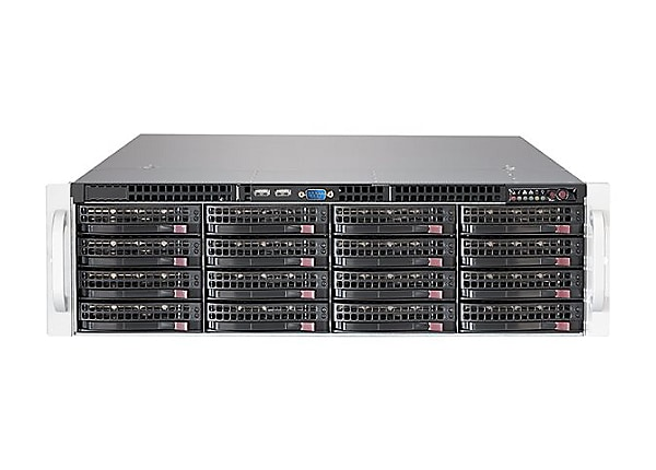Supermicro SC836 BE1C-R1K03JBOD - rack-mountable - 3U