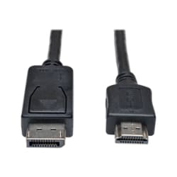 Tripp Lite 25ft DisplayPort to HDMI Audio/Video Adapter Cable M/M 1080p 25'