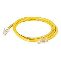 C2G Cat5e Non-Booted Unshielded (UTP) Network Patch Cable - patch cable - 1