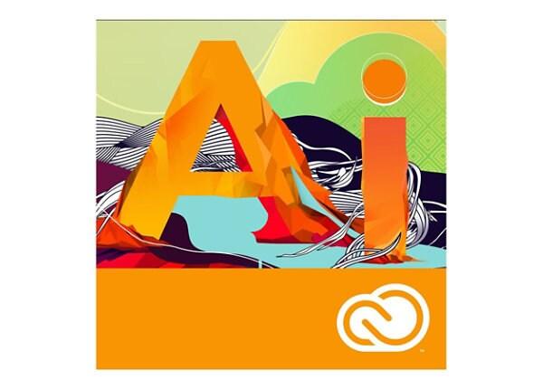 Adobe Illustrator CC - Team Licensing Subscription New (monthly) - 1 user