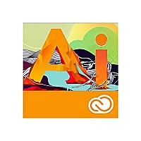 Adobe Illustrator CC - Team Licensing Subscription New (11 months) - 1 user